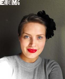 Evil Shades Devilista Lipstick makeup look