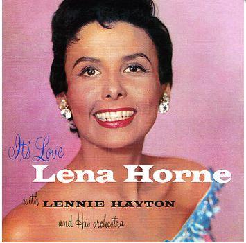 1955 Lena Horne Album Cover