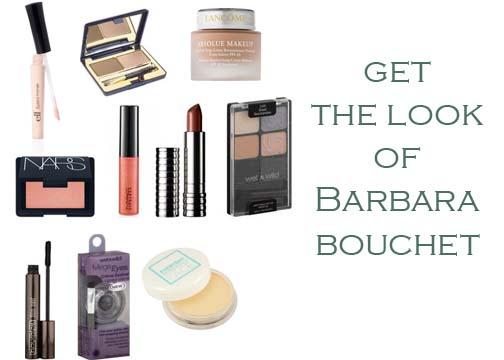1970's retro Barbara Bouchet makeup