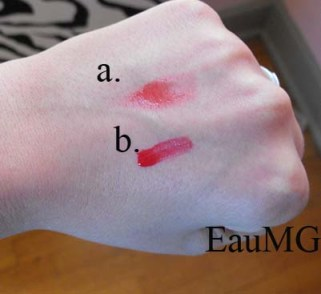 Hourglass Aura Lip & Cheek Stain Swatches