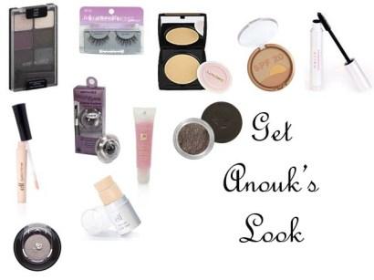 Makeup of Anouk Aimee