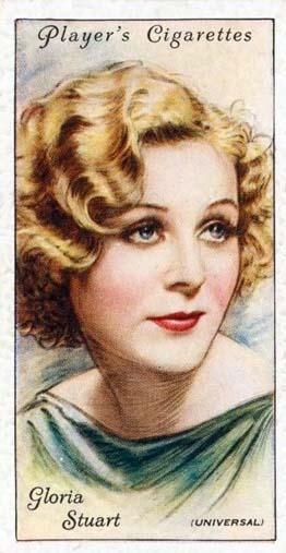 Gloria Stewart cigarette card