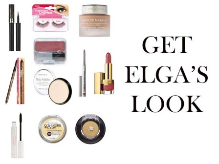 Elga Andersen makeup instruction