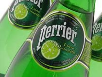 Lime perrier water