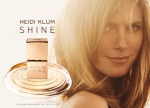 Heidi Klum Shine Ad