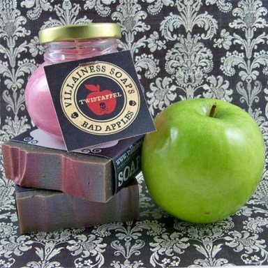 Villainess Bad Apple Soap and Candle
