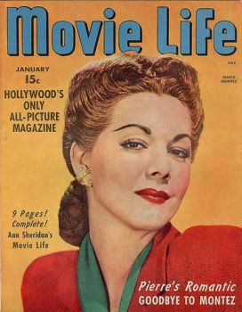 Maria Montez on Movie Life magazine
