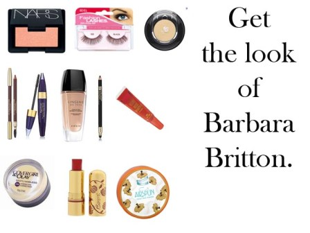 Barbara Britton makeup