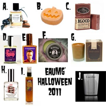 Halloween perfumes 2011