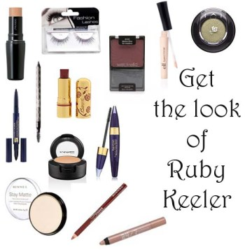 Get the makeup look of Ruby Keeler