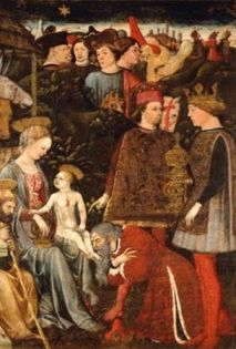 Bonifacio Bembo Adoration of the Magi