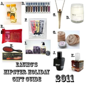2011 Holiday Hipster Gift Guide