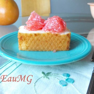 Grapefruit Fir Angel Food Cake