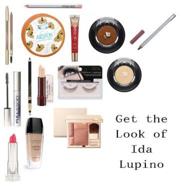Ida Lupino Makeup