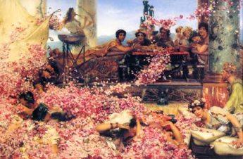 Alma Tadema Roses of Heliogabalus painting