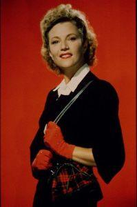 Annabella wearing red gloves