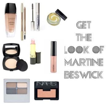 Martine Beswick makeup tutorial