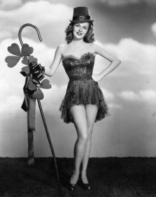 Peggy Knudsen St. Patrick's Day