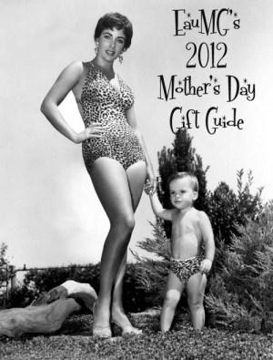 Elizabeth Taylor with Son