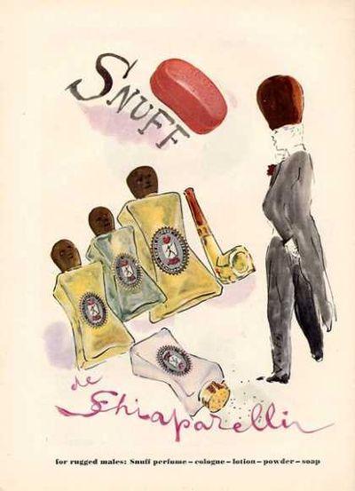 Schiaparelli Snuff ad