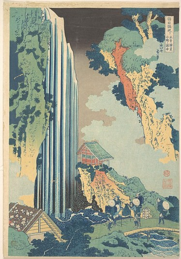 Hokusai Waterfall