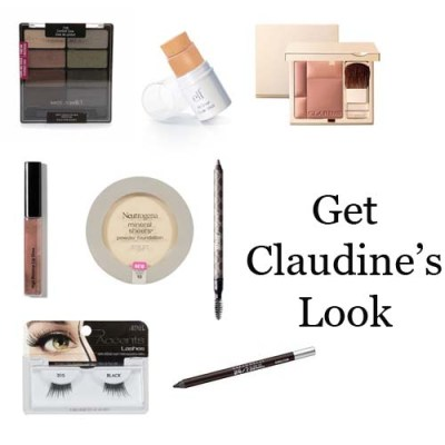 Claudine Auger Makeup Look