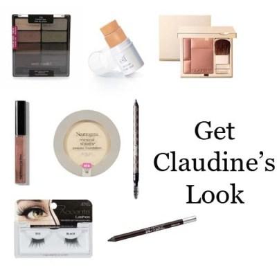 Claudine Auger Makeup Look