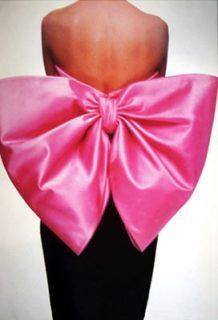 YSL bow dress