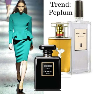 peplum fashion trend