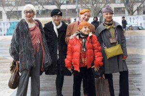 Ladies of Advanced Style