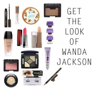 Wanda Jackson makeup