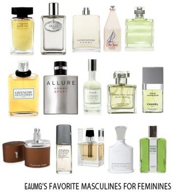 masculine perfumes