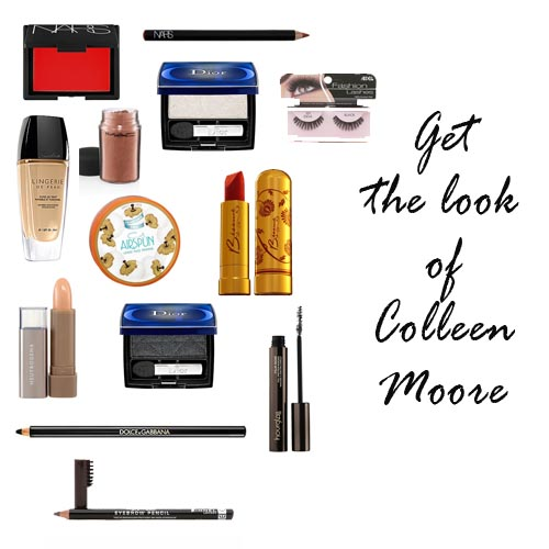 Colleen Moore makeup