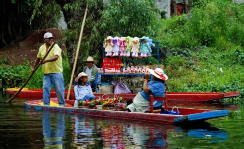 Mexico's floating gardens