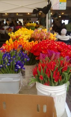 Flowers at Pike Place