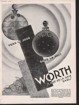 Worth 1928 ad