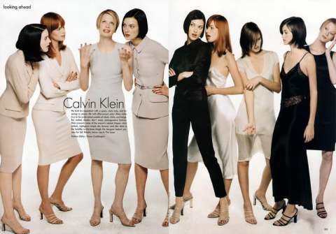 Calvin Klein 1990's fashion