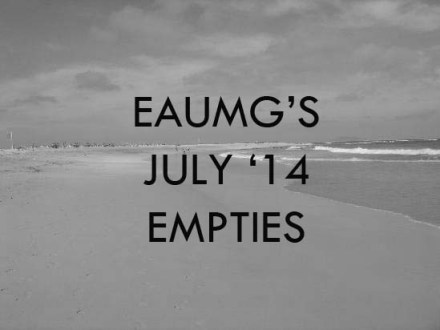 July 2014 Empties