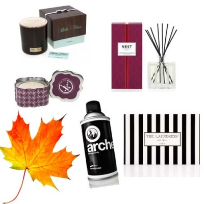 fall home fragrances