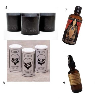 goth beauty gift guide