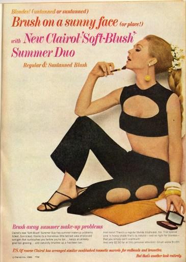 1966 Clairol makeup ad