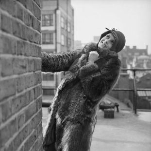 Twiggy in fur