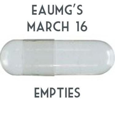 March '16 Empties