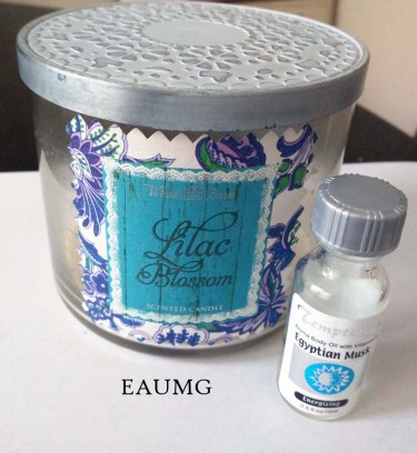 EauMG Fragrance Empties