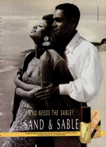 1990s' Sand & Sable ad