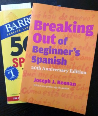 Spanish language learning books