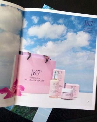 JK7 luxury skincare