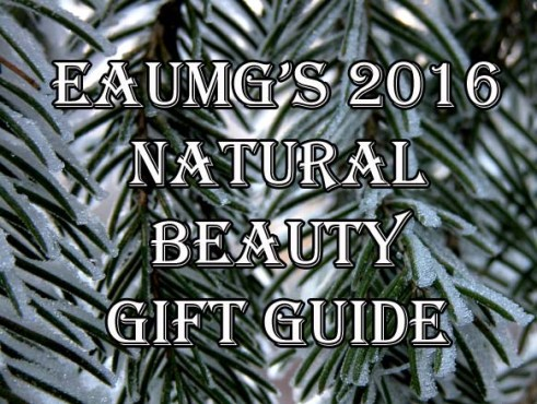 Natural Beauty Gift Guide 2016