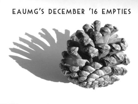 December 2016 Empties