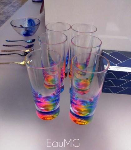 rainbow tumblers